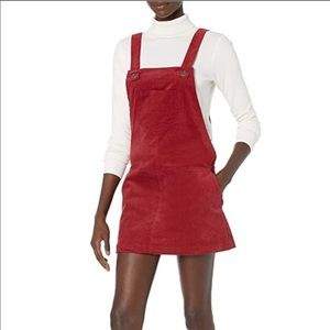 LUCCA Couture Corduroy Skirt Overalls NWT